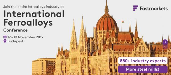The industry's flagship ferroalloys conference 2019(Budapest)