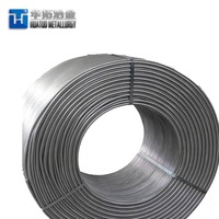 Steel Making Deoxidizer CaSi/Ca Si Cored Wire -5