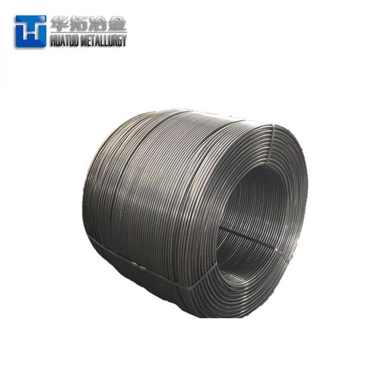 Steel Making Deoxidizer CaSi/Ca Si Cored Wire -3