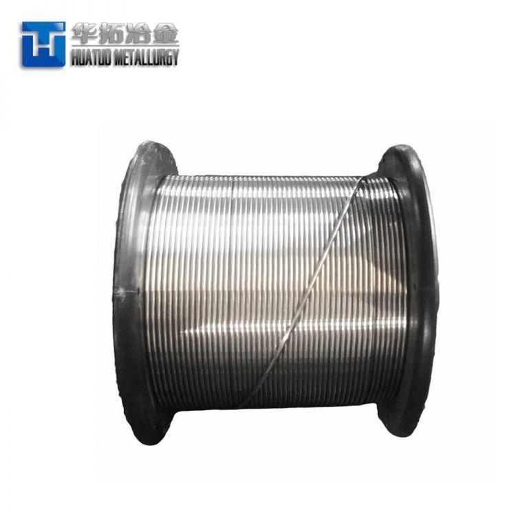 Steel Making Deoxidizer CaSi/Ca Si Cored Wire -1