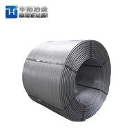 Steel Making Deoxidizer CaSi/Ca Si Cored Wire -6
