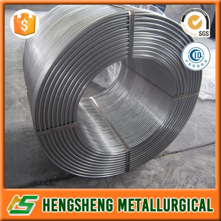 export product ferro calcium silicon cored wire / casi cored wire for steelmaking