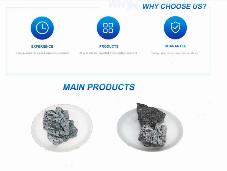 low carbon and low aluminium high purity ferro silicon China supplier