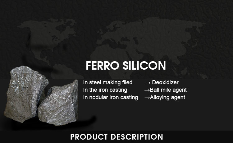 Anyang eternal sea ferro silicon hot sale in korea ferrosilicon 75