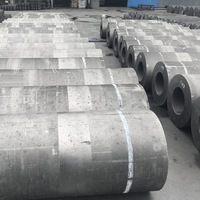 Low Consumption  UHP Graphite Electrode for low carbon ferrochrome -2