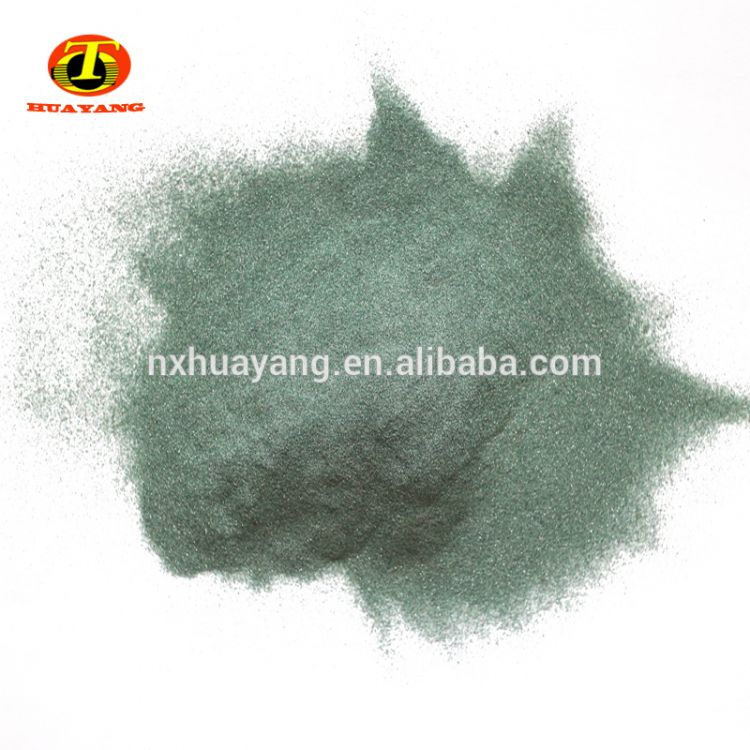 Green Silicon Carbide Sic Sand for Abrasive and Refractory -5