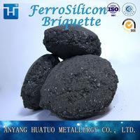 Mineral Ferro Silicon ,FeSi 75/72# Briquette/ball China Factory -4