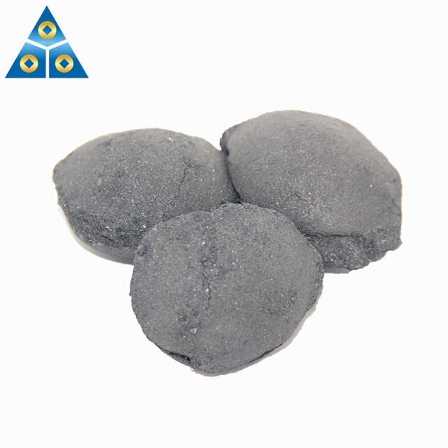 Steel Making Deoxidizer Ferrosilicon Briquette Size 10-50mm FeSi Ball -2