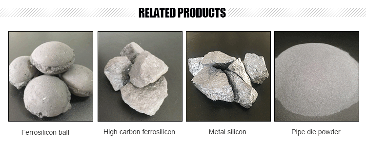 2018 New products custom low carbon ferro silicon
