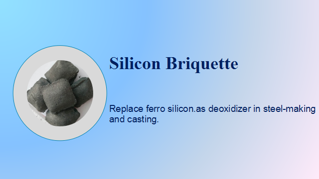 high quality large quantity ferro silicon briquette in anyang