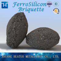 Mineral Ferro Silicon ,FeSi 75/72# Briquette/ball China Factory -2