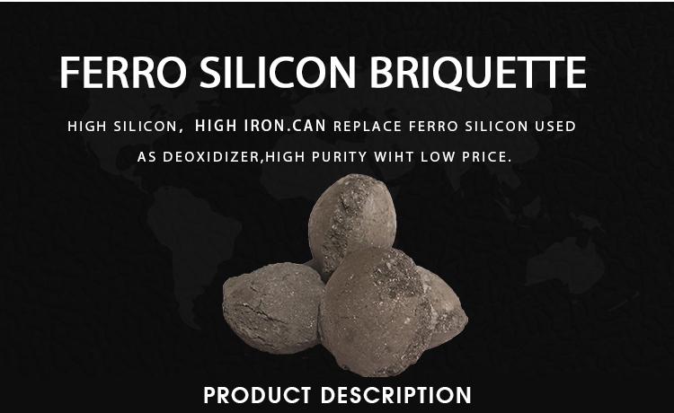 Good quality Ferro silicon briquette agent competitive price