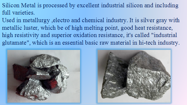 Large quantity of silicon metal 553 Eternal Sea