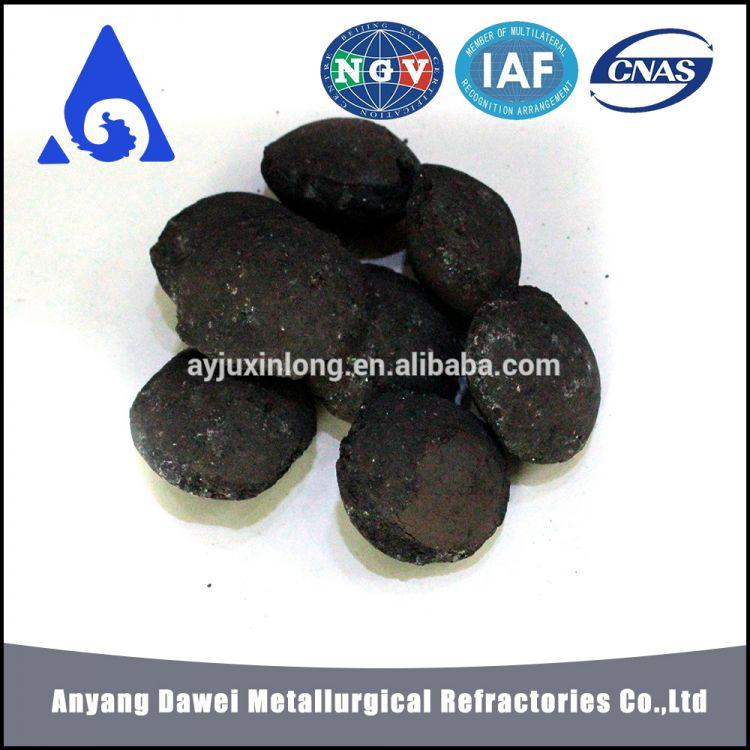 Anyang Factory Ferrochrome Production Process Ferro Silicon Ball / Briquette -1