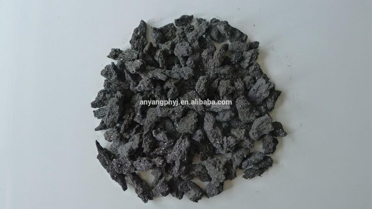 98.5% Pure Silicon Carbide used as Metallurgical Raw Material from China Supplier