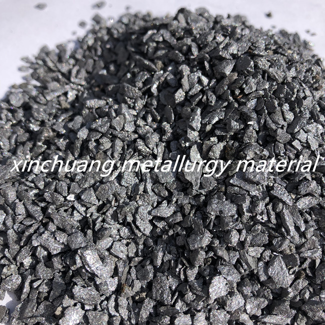 Ferro silicon grain(FeSi75/FeSi72) used as an inoculant in the foundry industry.