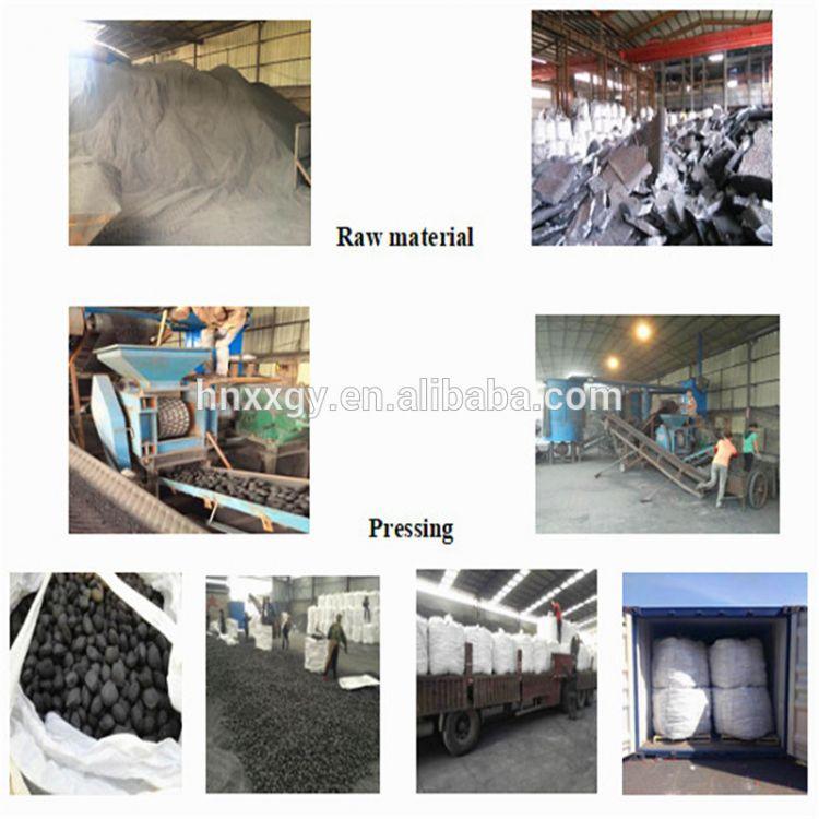 2017 low carbon metal silicon slag powder silicon briquette making by machine pressing