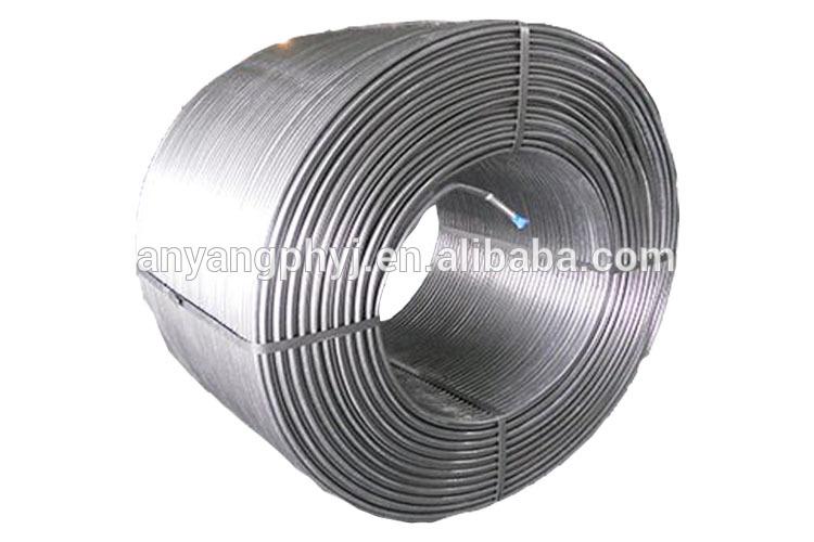 Ferro Silicon Calcium Cored Wire for Steel Production