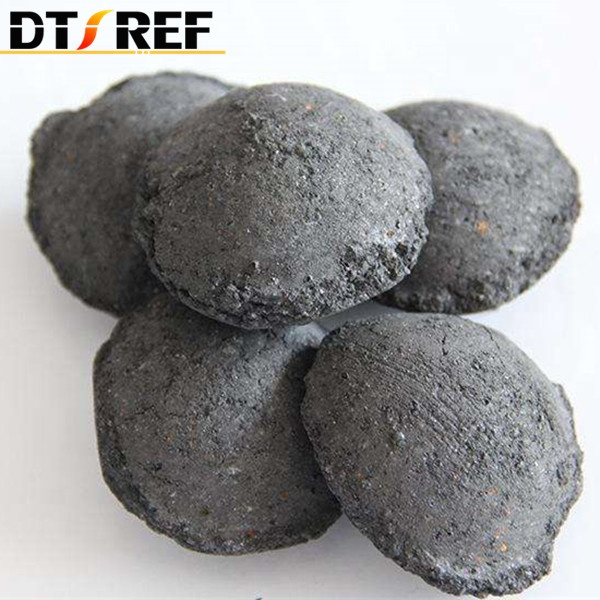 Manufacturer Wholesale High Silicon Carbide Briquette Ball 3-50mm Used for Heat Raiser -5