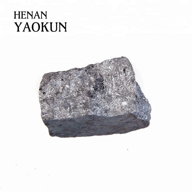 Mineral Ferro Silicon FeSi 75 72 Briquette/ball Best Factory -1