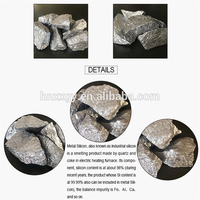 Wholesale Metal Silicon 553 441 421 411 3303 2502 2202 1101 for industry metallurgy