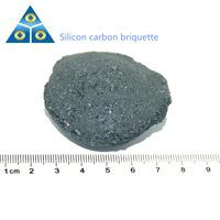 Hot Sale Silicon Briquette 10-50mm SiC Silicon Carbide Briquette -2