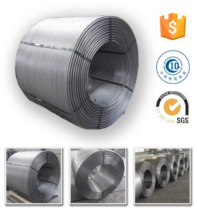 High quality for steelmaking Calcium silicon alloy Ca Si cored wire
