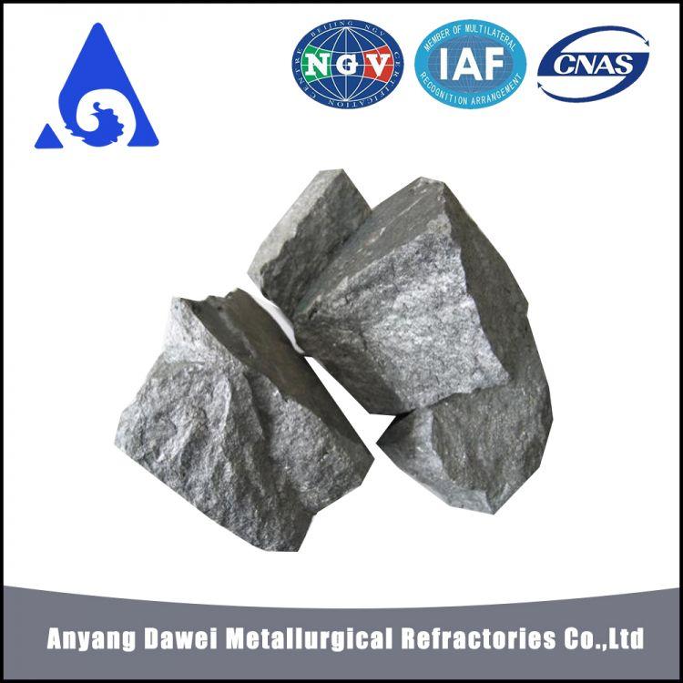 Dawei High Carbon Ferro Silicon HC FeSi/ferro Silicon 75 /75% Ferro Silicon Lump -5