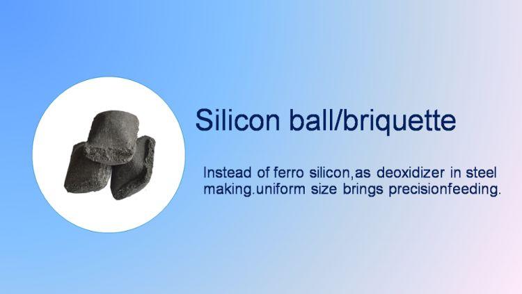 different shaped silicon slag :briquette/lump/granule/powder