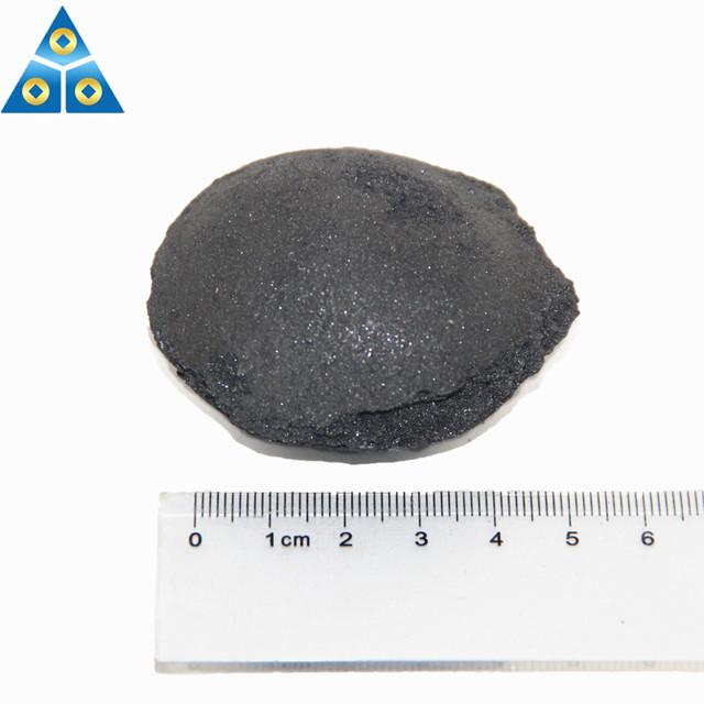 Steel Making Deoxidizer Ferrosilicon Briquette Size 10-50mm FeSi Ball -1