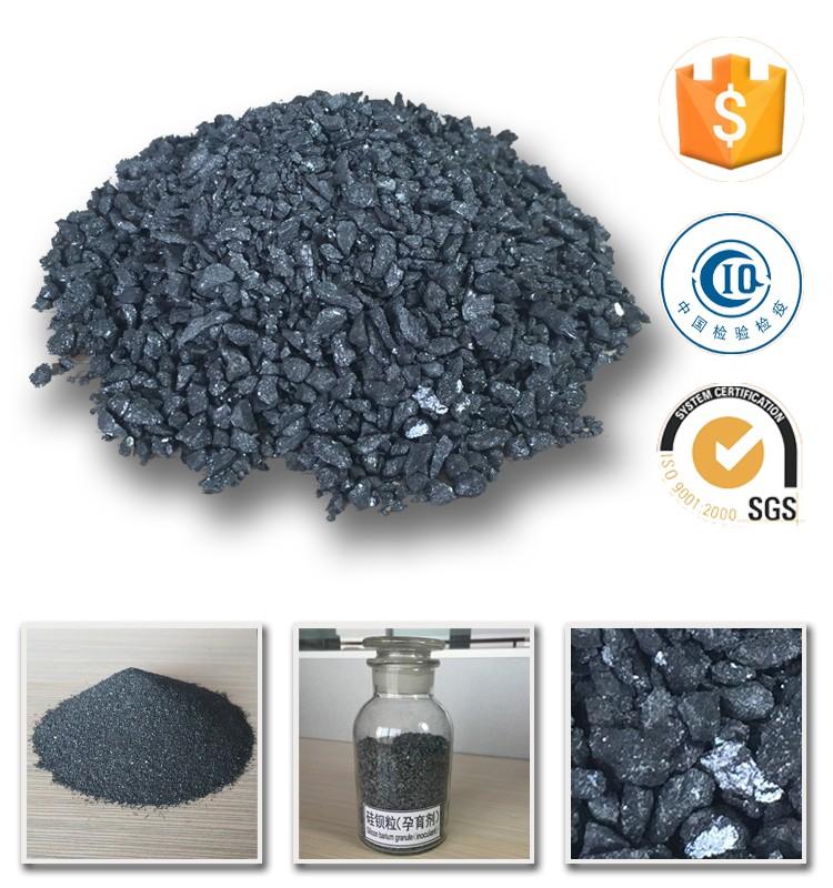 Steelmaking inoculant ,FeSiBa , ferro silicon barium
