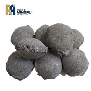 China Hotselling Ferro Silicon Deoxidizer FeSi Ferrosilicon Briquette for Steelmaking
