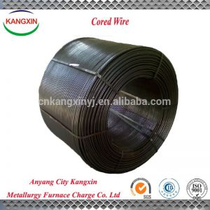 ferro calcium silicon cored wire price from anyang supplier