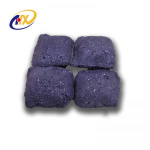 New Pattern Metallurgical Silicon Briquette For Making Steel And Iron