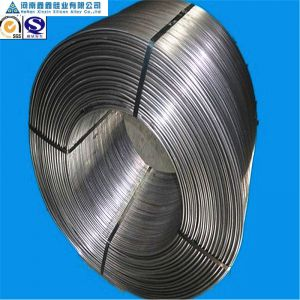 High quality Si 50 Ca 30 calcium silicon cored wire from Chinese supplier