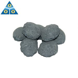 Producer of Silicon ball 10-50mm Silicon Carbide briquette for Steel making