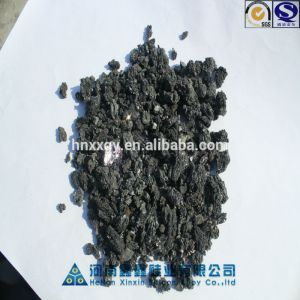 henan new launched pure black silicon carbide for refractory and iron steel application