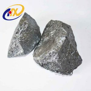 Lump 10-100mm High Quality Iron Making China Credible Silicon Metal Crystal