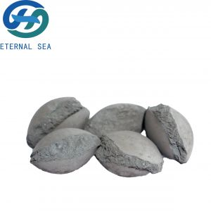 Eternal Sea Ferro Silicon Grade Si 75 Silicon Briquette Supplier for Steelmaking