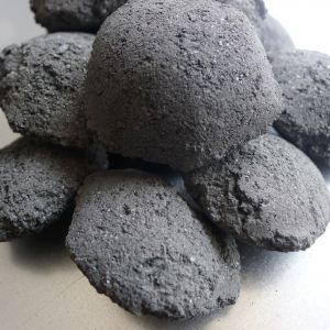 China Black Silicon Carbide SiC Briquette for Steelmaking and Foundry