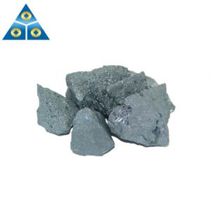 Silicon Material Silicon Carbon Alloy 10-50mm High Carbon Ferro Silicon