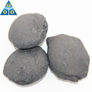Customized Size Barium Calcium Silicon Briquette From China Producer