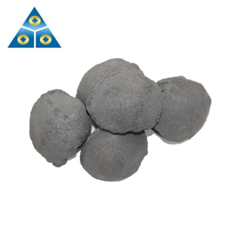 Ferro Silicon Substitute In Steelmaking Silicon Slag Balls / Briquettes