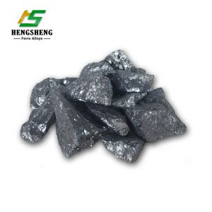 International Market Deoxidizer The Price of Iron Silicon Low Price of Silicon Slag Ball 553