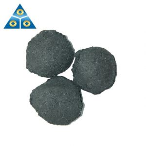 Producer of Silicon Briquette 10-50mm Silicon Carbon Ball for Steel Making