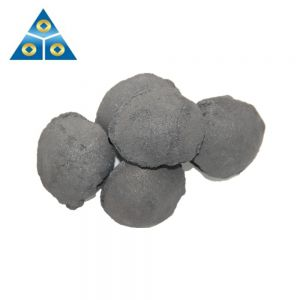 China origin FeSi Briquette / Silicon Slag Briquettes