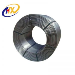 Best Factory Price for Calcium Silicon Cored Wire / CaSi Cored Wire