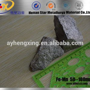 Low Carbon Ferro Manganese Used In Steel & Iron Li