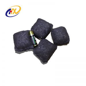 Exclusive Technical Steemaking Material Si Briquette 60% From China Factory