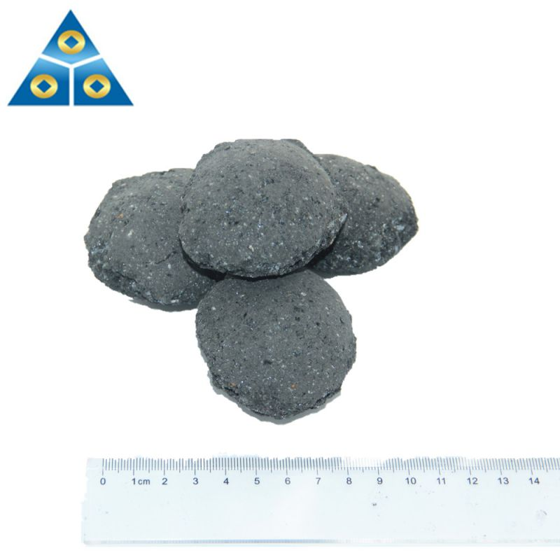 Hot Sale Silicon Slag Briquette 10-50mm Silicon Carbon Ball for Steel Making